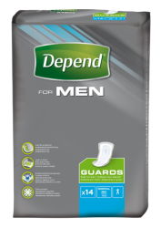 Depend For Men 2 inkontinenční vložky 14ks