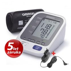Tonometr OMRON M6 Comfort s Intelli manžetou + adaptér
