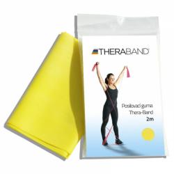 THERA-BAND posilovací guma 2m, žlutá, slabá