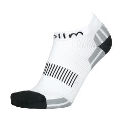 Kompresní ponožky na běh - bílé Velikost 4-5