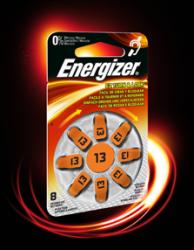 Baterie do naslouchadel Energizer 13, 8ks