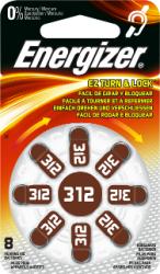 Baterie do naslouchadel Energizer 312, 8ks
