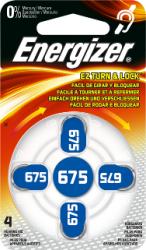 Baterie do naslouchadel Energizer 675, 4ks