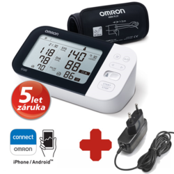 Omron M7 Intelli IT Bluetooth s AFIB + adaptér